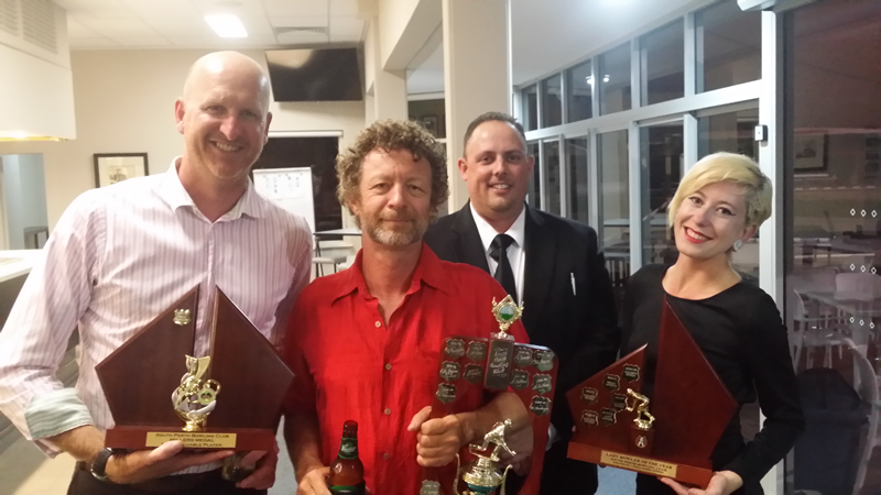 The 4 big winners - SPBC Awards Night 2014