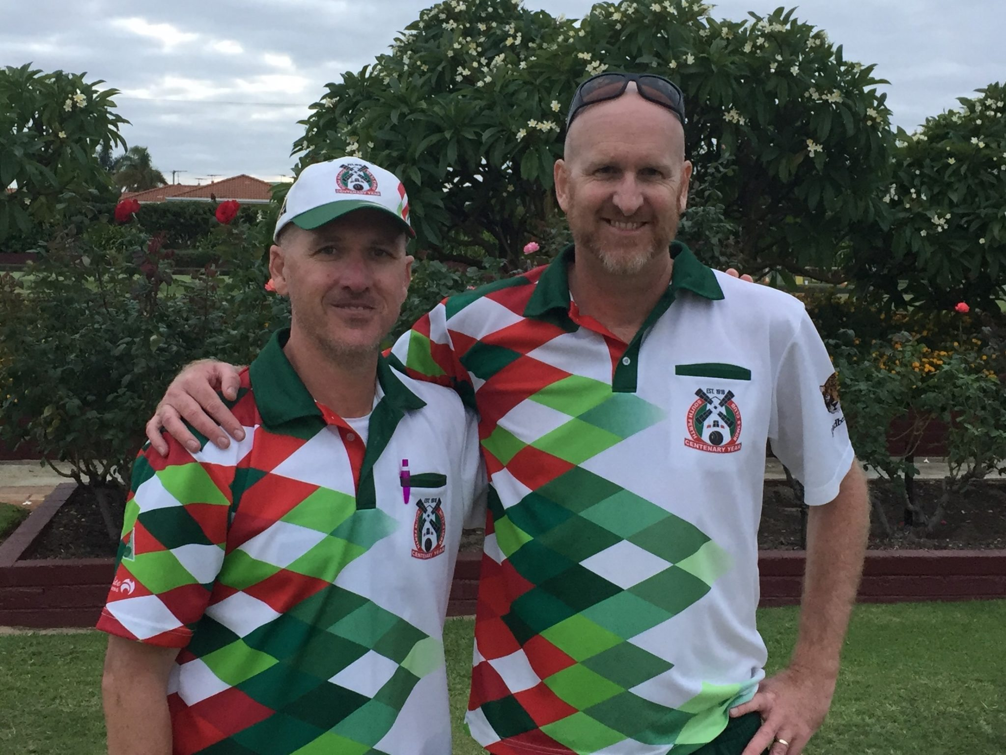 Bowls 2nd Divi under pairs 2017