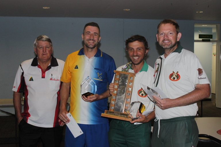 2018 State Bowls Triples Winners